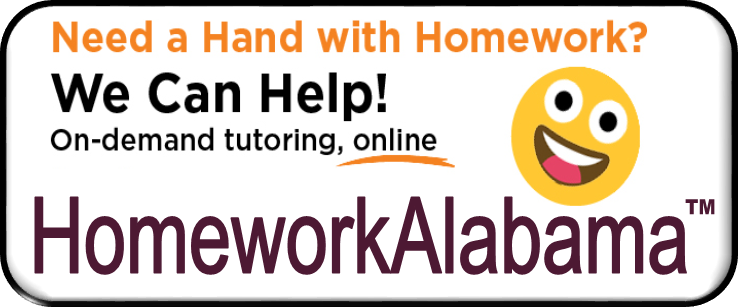 Button HomeworkAlabama 2019