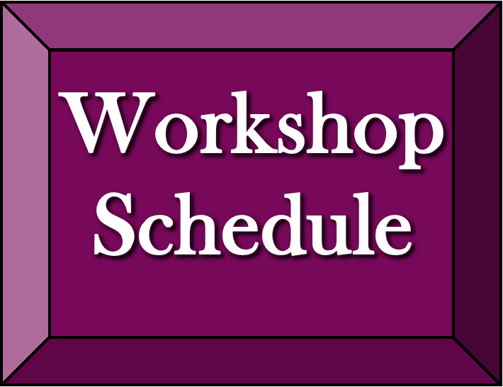 Button-Workshop Schedule