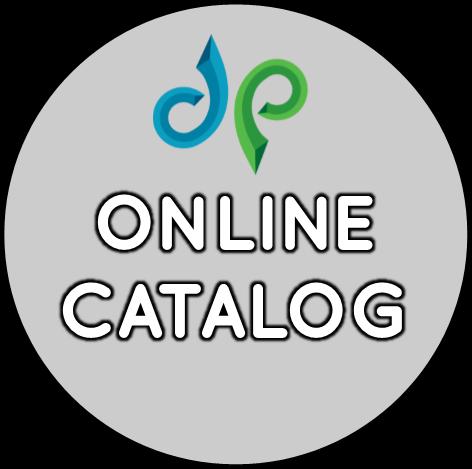 Online catalog button