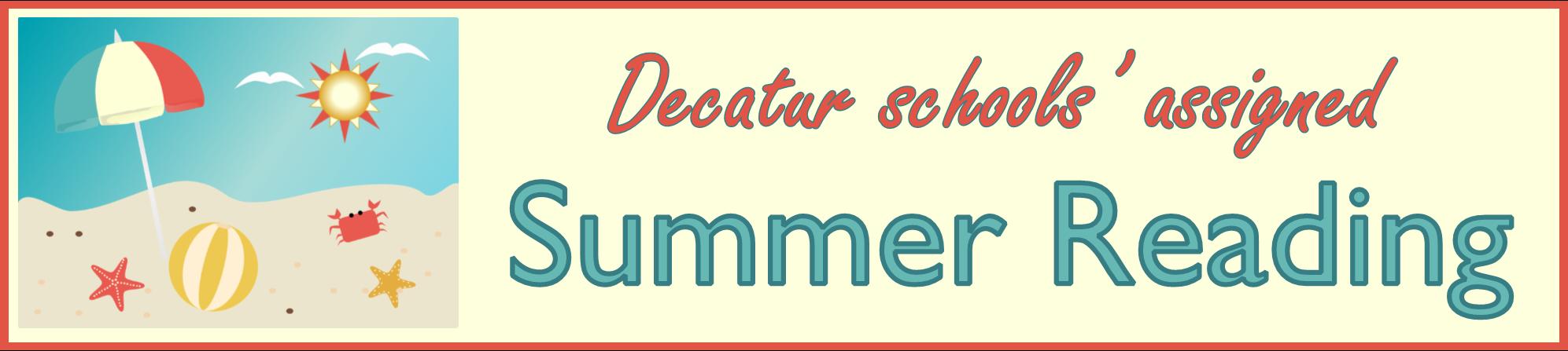 DecaturSchoolsAssignedReadingBAnner